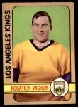 1972 O-Pee-Chee #100  Rogatien Vachon  Front Thumbnail