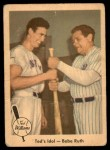 1959 Fleer #2   -  Ted Williams / Babe Ruth Ted's Idol Front Thumbnail