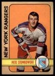 1972 O-Pee-Chee #78  Pete Stemkowski  Front Thumbnail