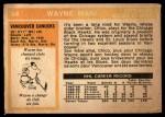 1972 O-Pee-Chee #84  Wayne Maki  Back Thumbnail