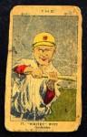 1923 W515-2 #37  Whitey Witt  Front Thumbnail