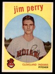 1959 Topps #542  Jim Perry  Front Thumbnail