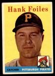 1958 Topps #4  Hank Foiles  Front Thumbnail