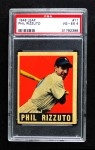 1948 Leaf #11  Phil Rizzuto  Front Thumbnail