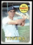 1969 Topps #305  Dick McAuliffe  Front Thumbnail