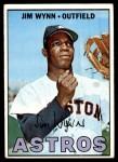 1967 Topps #390  Jim Wynn  Front Thumbnail