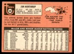 1969 Topps #580  Jim Northrup  Back Thumbnail