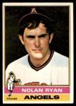 1976 Topps #330  Nolan Ryan  Front Thumbnail