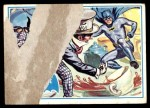 1966 Topps Batman Blue Bat Puzzle Back #42   Inhospitable Hatter! Front Thumbnail