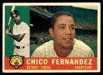1960 Topps #314  Chico Fernandez  Front Thumbnail