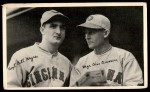 1936 National Chicle Fine Pen Premiums  Buddy Myer / Chuck Dressen  Front Thumbnail