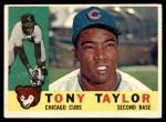 1960 Topps #294  Tony Taylor  Front Thumbnail