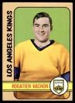 1972 Topps #51  Rogatien Vachon  Front Thumbnail