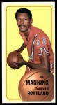 1970 Topps #132  Ed Manning   Front Thumbnail