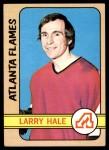 1972 Topps #44  Larry Hale  Front Thumbnail