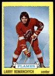 1973 Topps #185  Larry Romanchych   Front Thumbnail