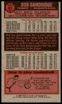 1976 Topps #81  Bob Dandridge  Back Thumbnail