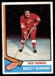 1974 Topps #120  Mickey Redmond  Front Thumbnail