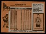 1975 Topps #30  Stan Mikita   Back Thumbnail