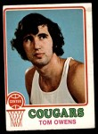 1973 Topps #189  Tom Owens  Front Thumbnail