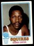 1973 Topps #191  George Carter  Front Thumbnail