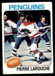 1975 Topps #305  Pierre Larouche   Front Thumbnail