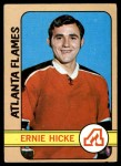 1972 Topps #154  Ernie Hicke  Front Thumbnail