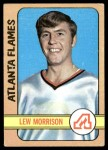 1972 Topps #58  Lew Morrison  Front Thumbnail