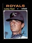1971 Topps #646  Bobby Floyd  Front Thumbnail