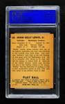 1940 Play Ball #20  Buddy Lewis  Back Thumbnail
