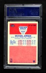 1986 Fleer #57  Michael Jordan  Back Thumbnail