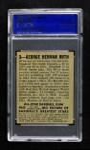 1948 Leaf #3  Babe Ruth  Back Thumbnail