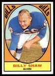 1967 Topps #28  Billy Shaw  Front Thumbnail