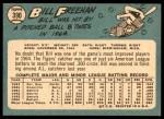 1965 Topps #390  Bill Freehan  Back Thumbnail