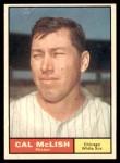 1961 Topps #157  Cal McLish  Front Thumbnail