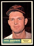 1961 Topps #218  Hal Brown  Front Thumbnail