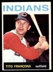 1964 Topps #583  Tito Francona  Front Thumbnail