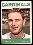 1964 Topps #211  Jim Coker  Front Thumbnail