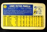 1970 Topps Super #32  Lou Piniella  Back Thumbnail