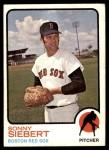 1973 Topps #14  Sonny Siebert  Front Thumbnail