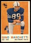 1959 Topps #109  Gino Marchetti  Front Thumbnail