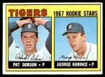 1967 Topps #526   -  Pat Dobson / George Korince Tigers Rookies Front Thumbnail