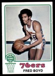 1973 Topps #91  Fred Boyd  Front Thumbnail