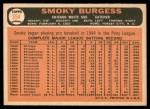1966 Topps #354  Smoky Burgess  Back Thumbnail