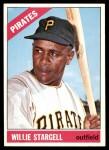 1966 Topps #255  Willie Stargell  Front Thumbnail