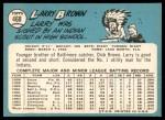 1965 Topps #468  Larry Brown  Back Thumbnail