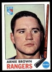 1969 Topps #34  Arnie Brown  Front Thumbnail
