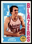 1974 Topps #21  Larry Steele  Front Thumbnail
