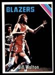 1975 Topps #77  Bill Walton  Front Thumbnail