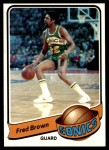 1979 Topps #46  Fred Brown  Front Thumbnail